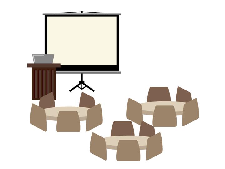 講座部屋のイラスト